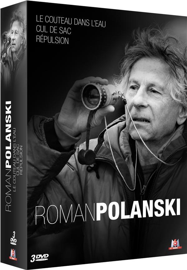 3 films de Roman Polanski : Répulsion + Cul-de-sac + Le couteau dans l'eau