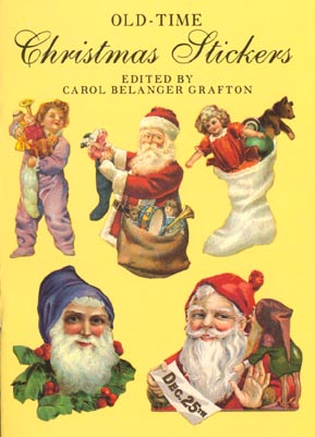 Oldtime christmas stickers