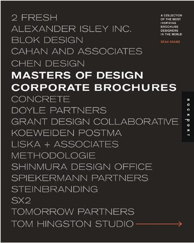 Masters of design corporate brochures /anglais