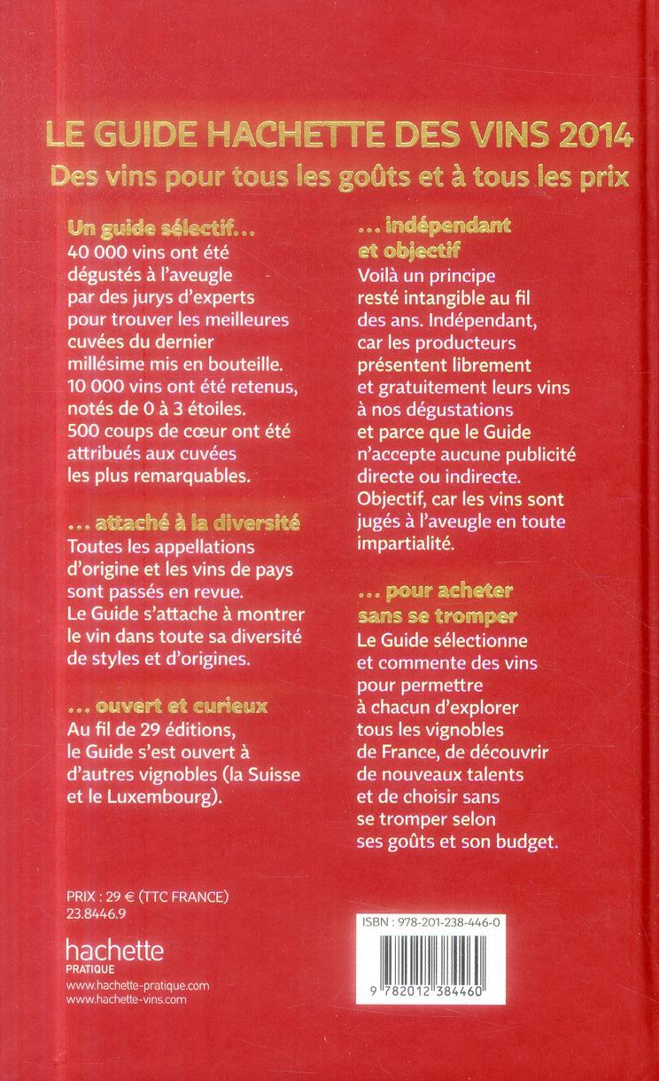 Le guide Hachette des vins (édition 2014)
