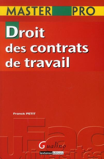 Droit Des Contrats De Travail