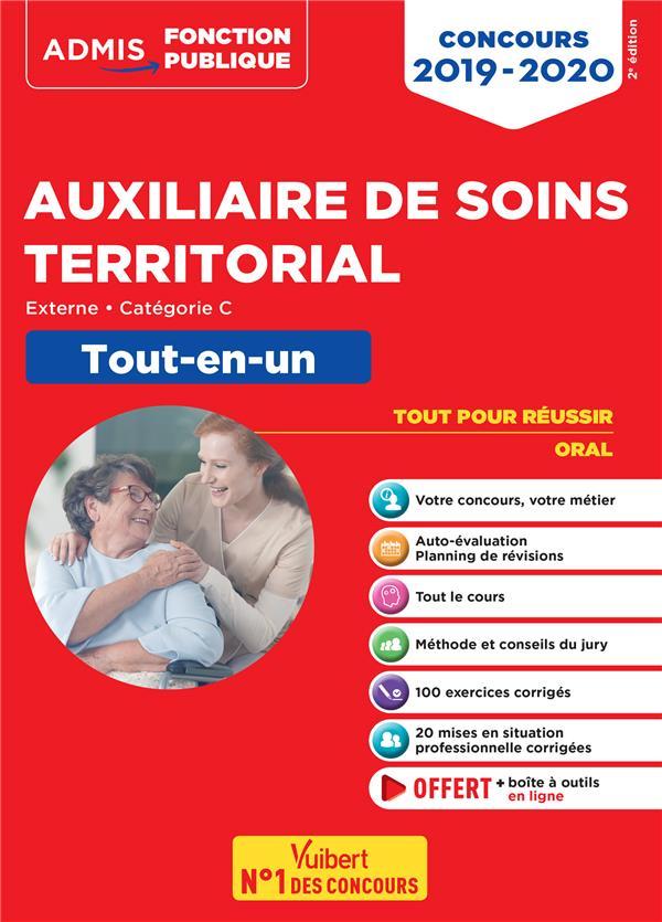 Auxiliaire de soins territorial ; externe, catégorie C ; tout-en-un (édition 2019/2020)