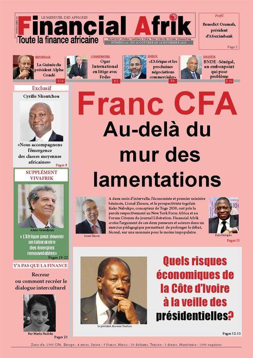 Financial Afrik n°22 octobre 2015