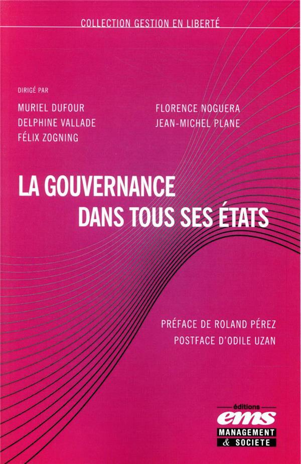 La gouvernance dans tous ses états