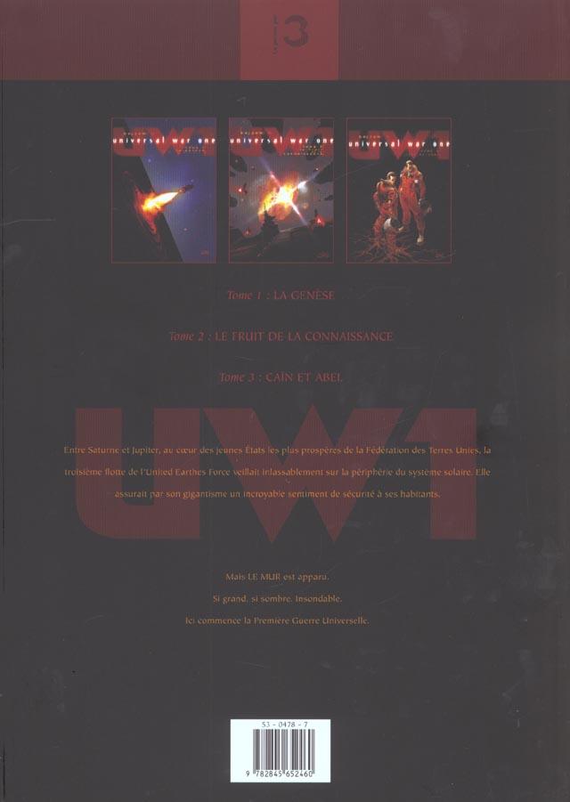 Universal war one ; t.1 à t.3