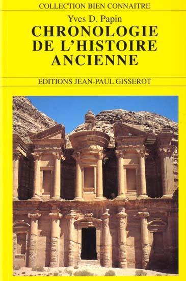 La Chronologie De L'Histoire Ancienne