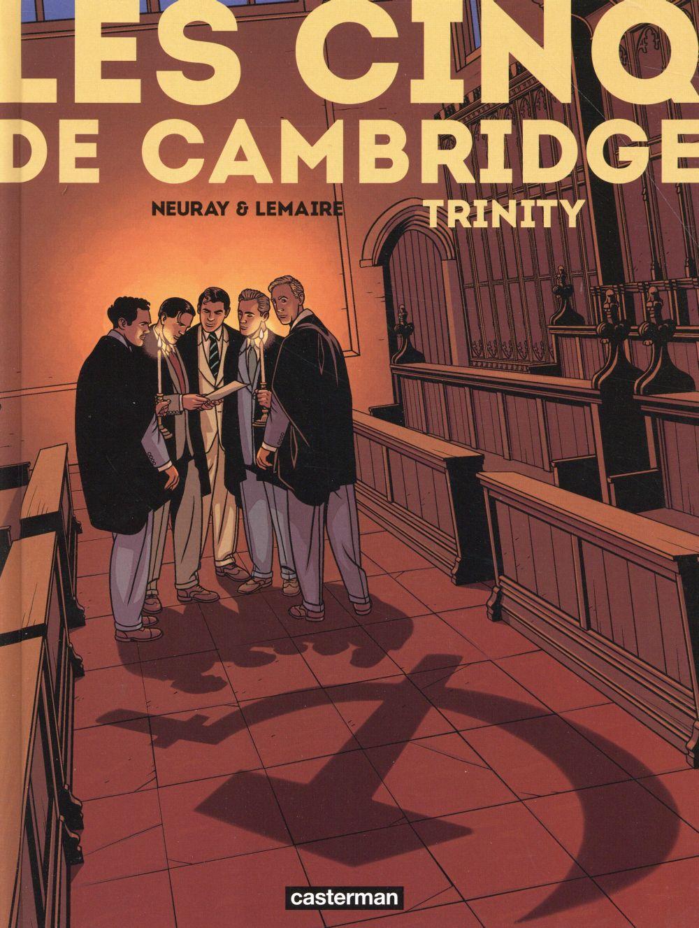 Les Cinq de Cambridge T.1 ; Trinity
