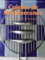 Couverture de Cuisine de méditerranée ; de la mer à l'assiette