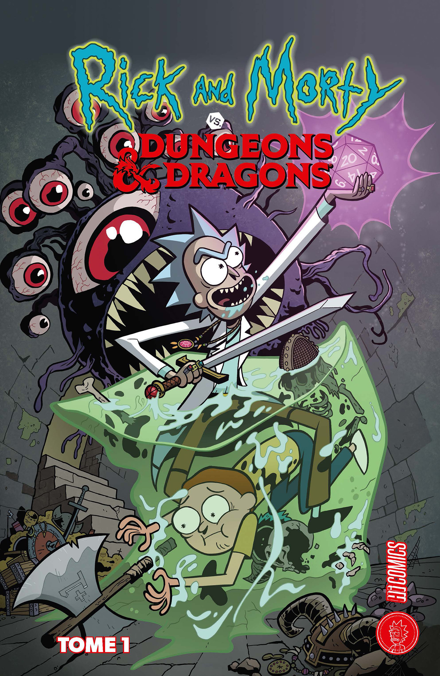 Rick & Morty VS. Dungeons & Dragons t.1