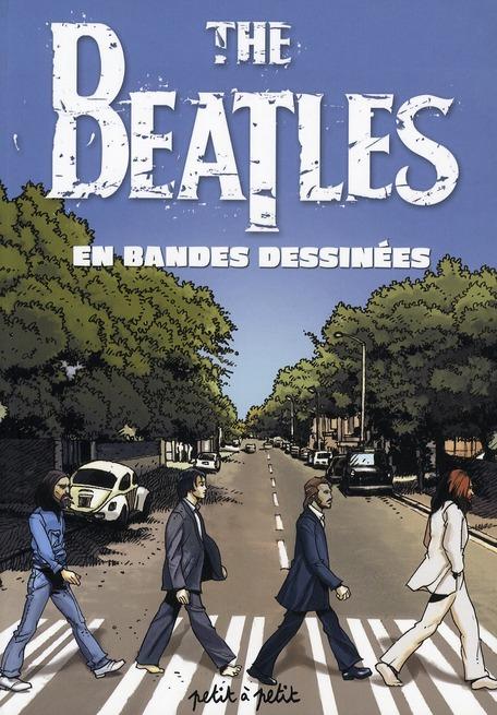the Beatles en bandes dessinées