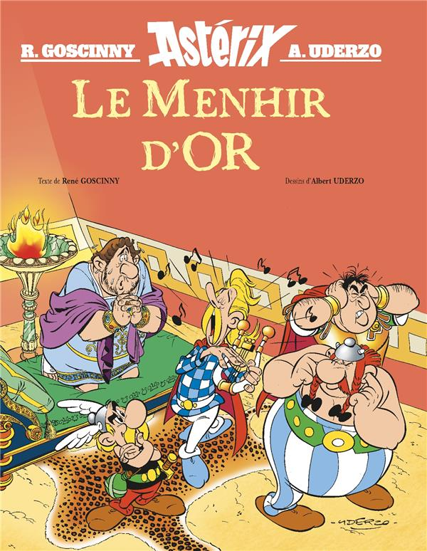 ASTERIX HORS-SERIE  -  LE MENHIR D'OR