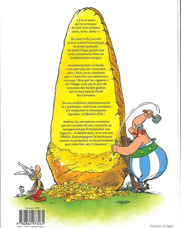 Astérix HORS-SERIE ; le menhir d'or
