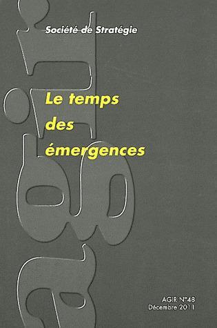 Le temps des emergences