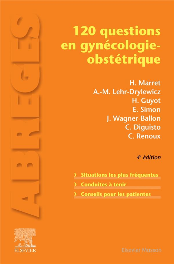120 questions en gynécologie-obstétrique (4e édition)