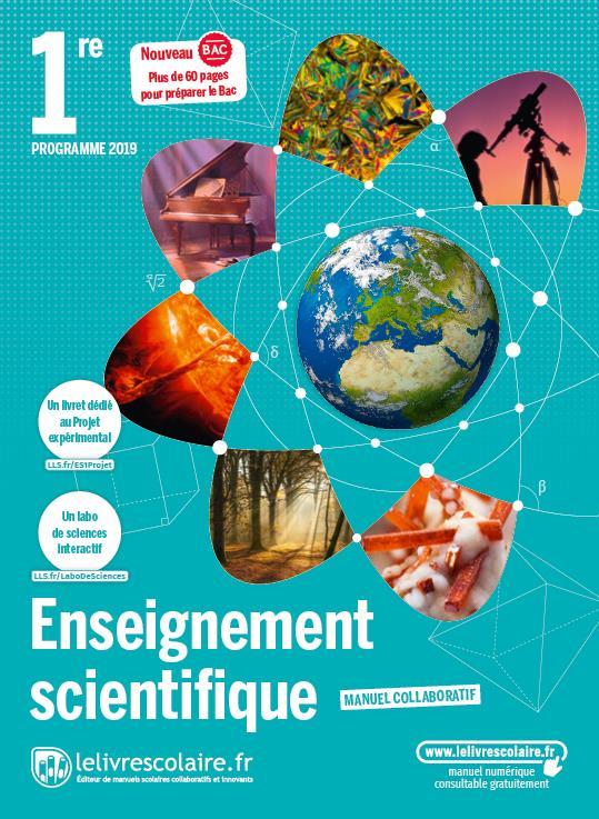 Enseignement scientifique 1re, edition 2019