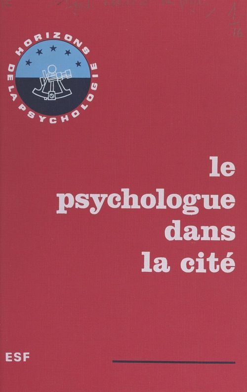 Le psychologue dans la cité