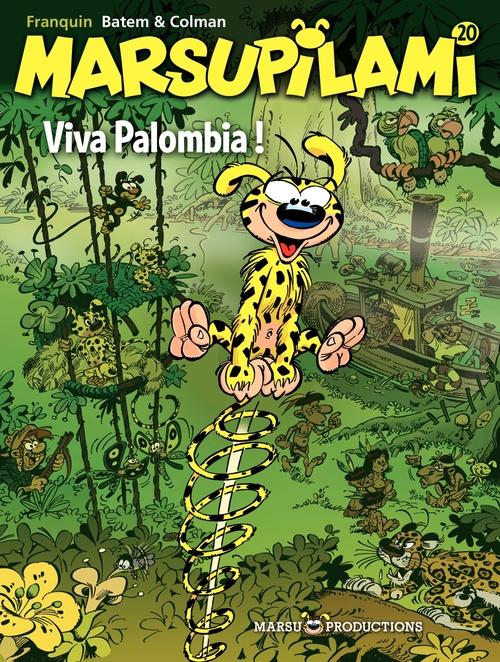 Marsupilami T.20 ; viva Palombia !