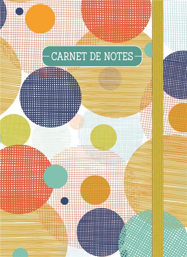 Carnet de notes (petit) - cercles