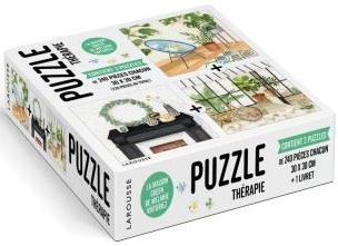 Puzzle thérapie ; la maison green de melanie voituriez