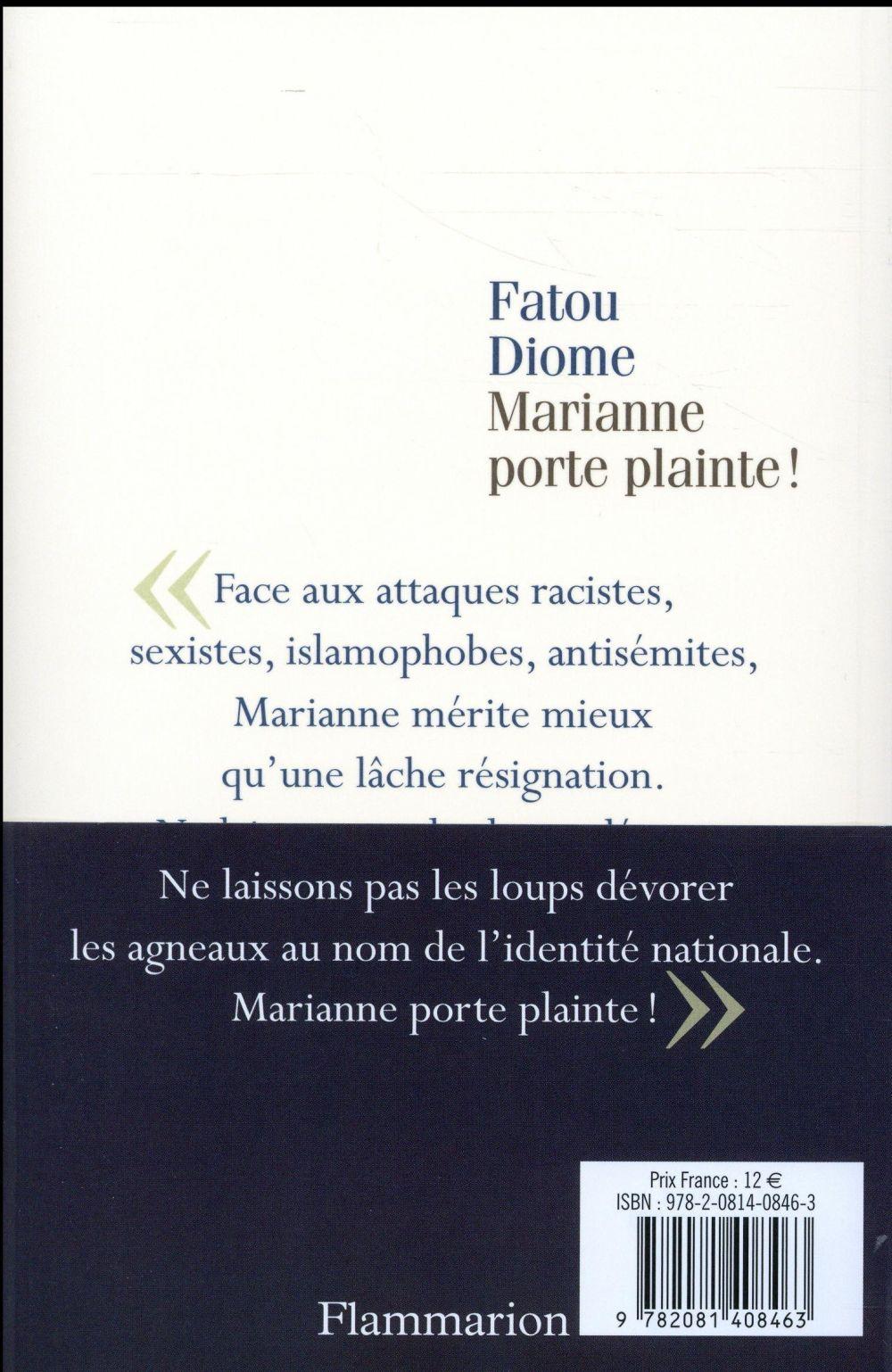 Marianne porte plainte!
