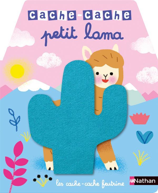 CACHE-CACHE ; petit lama