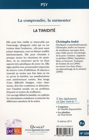 La timidité (3e édition)