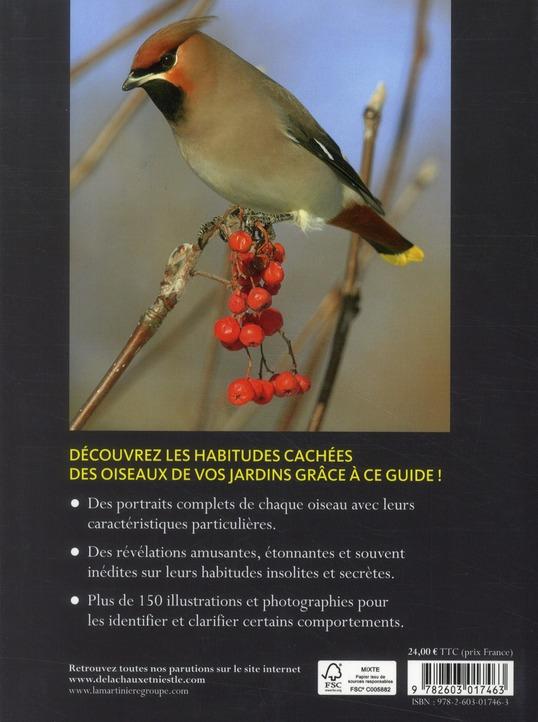 Les oiseaux du jardin ; révélations