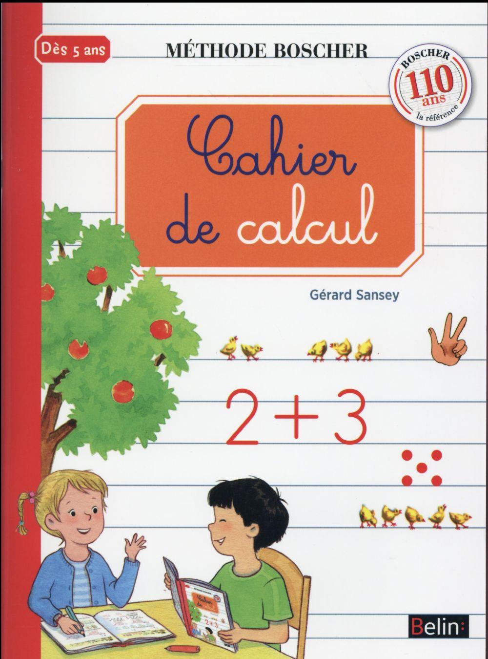 Cahier de calcul (édition 2016)