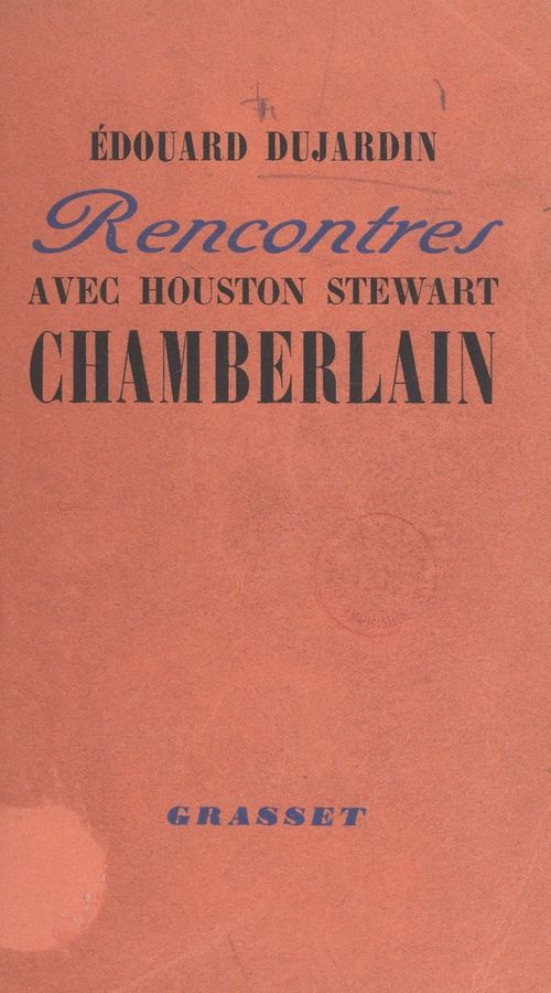 Rencontres avec Houston Stewart Chamberlain