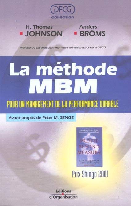 La Methode Mbm. Pour Un Management De Laperformance Durable