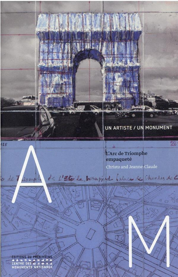 Christo : l'Arc de Triomphe empaqueté