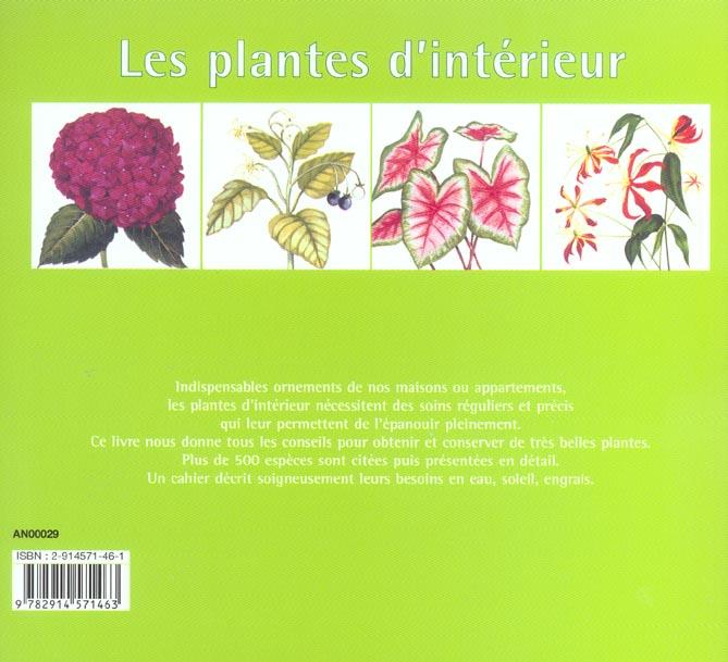 Les plantes d'interieur