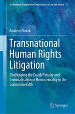 Transnational Human Rights Litigation  - Andrew Novak