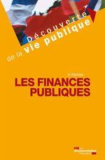 Vente Livre Numérique : Les finances publiques - 9e édition  - Franck Waserman - La Documentation française