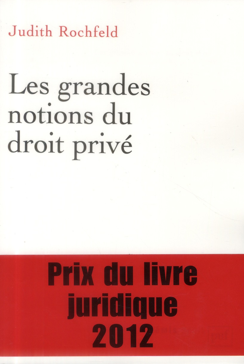 Les grandes notions du droit privé (2e édition)