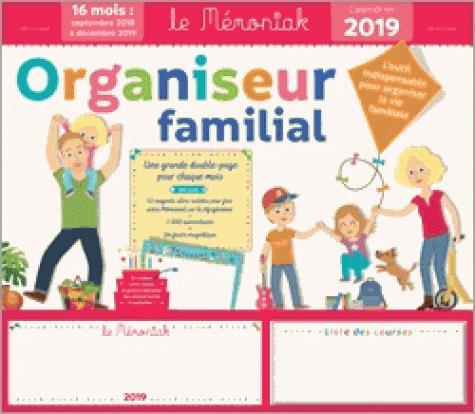 Organiseur familial memoniak (édition 2018/2019)