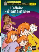 Vente Livre Numérique : L'affaire du diamant bleu  - Christine Palluy