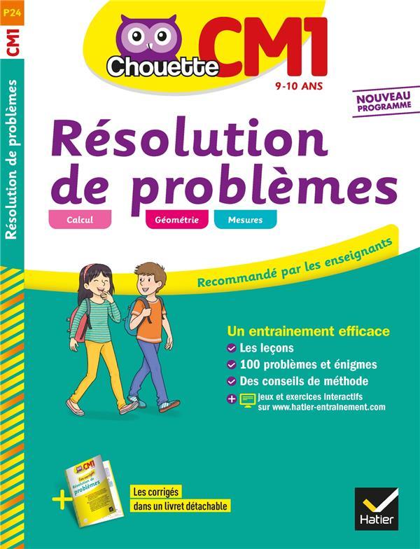 Chouette Entrainement ; Resolution De Problemes ; Cm1