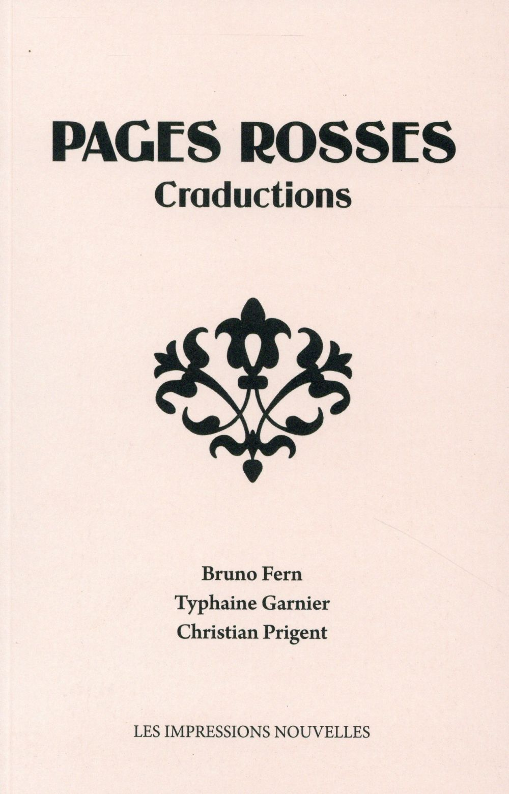 Pages rosses ; craductions