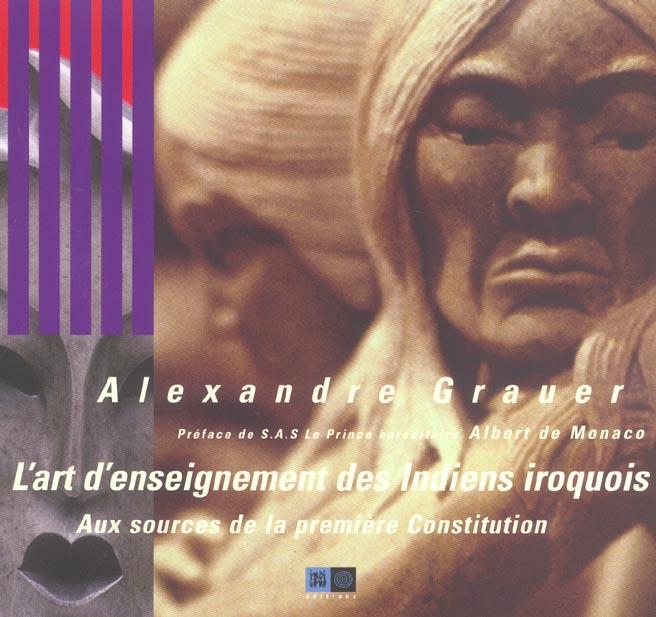L'art d'enseignement des indiens iroquois