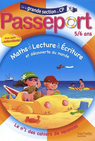 Passeport; De La Grande Section Au Cp ; 5/6 Ans