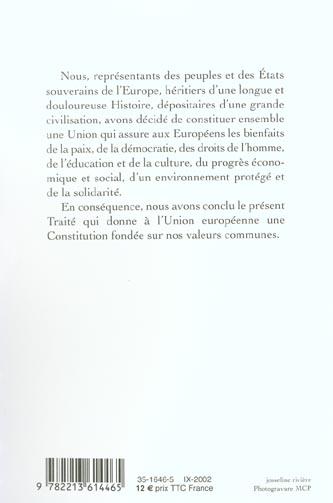 une constitution européenne