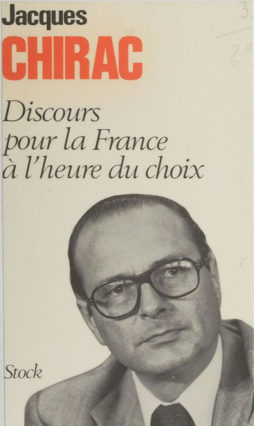 Discours pour la France à l'heure du choix