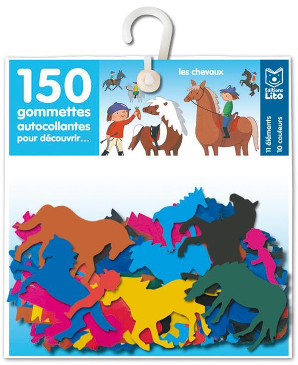 150 Gommettes Pour Decouvrir...; Les Chevaux