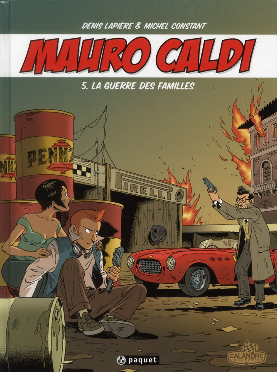 Mauro Caldi t.5 ; la guerre des familles