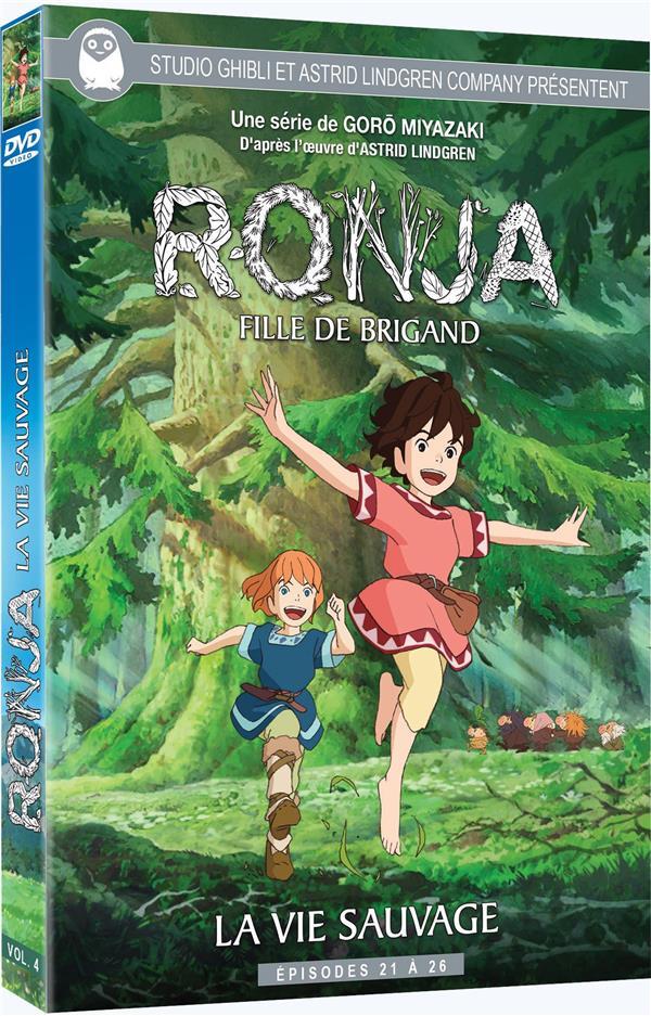 Ronja, fille de brigand - Vol. 4 - La Vie sauvage - Épisodes 21 à 26