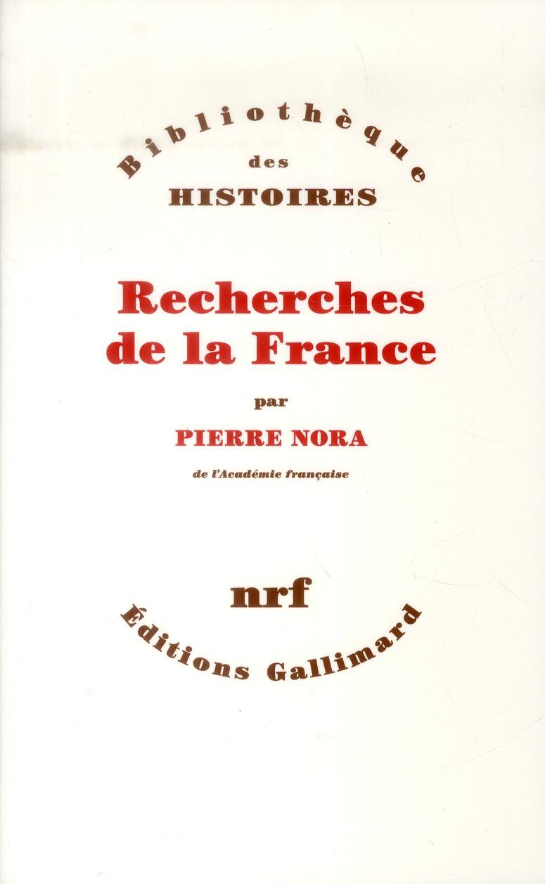 recherches de la France