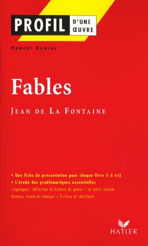 Fables De Jean De La Fontaine T.1