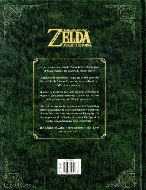 The legend of Zelda ; Hyrule historia ; encyclopédie