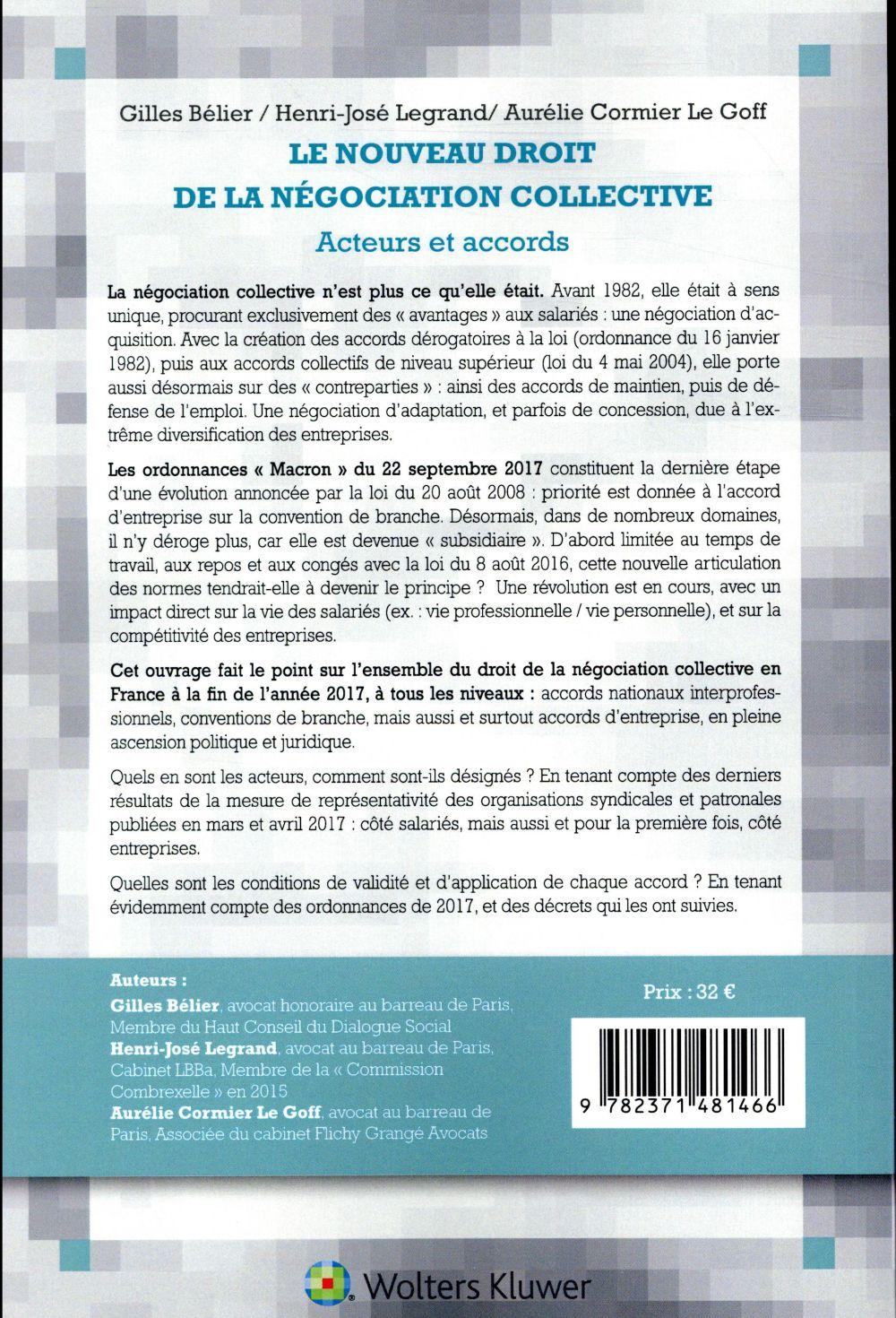 Le nouveau droit de la négociation collective (5e édition)